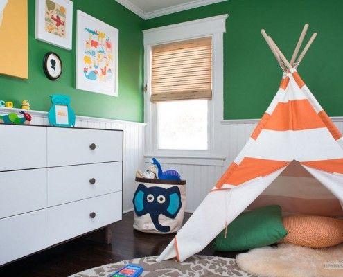 Намет в дитячій кімнаті