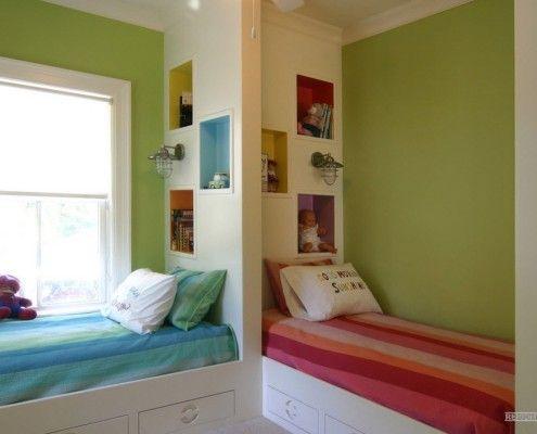 Оформлення кімнати для дівчинки і хлопчика