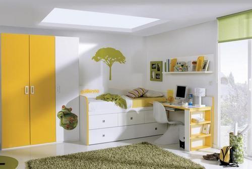 Фото - Дитяче ліжко з шафою: вибір для сучасних інтер'єрів