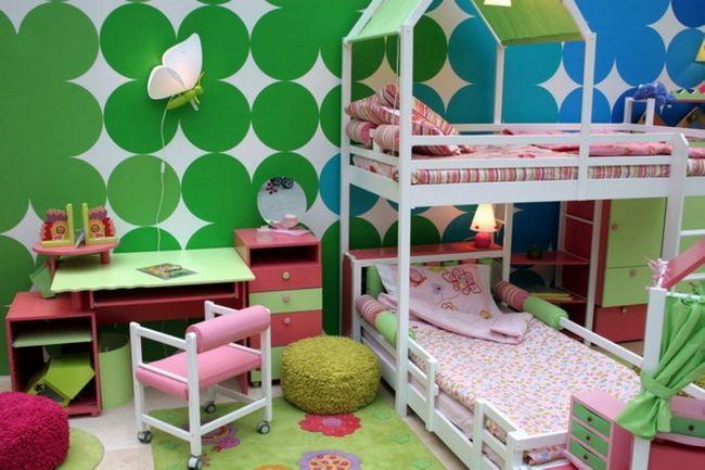 Фото - Дитячі кімнати з двоярусною ліжком: двоповерхова королівство для ваших дітей