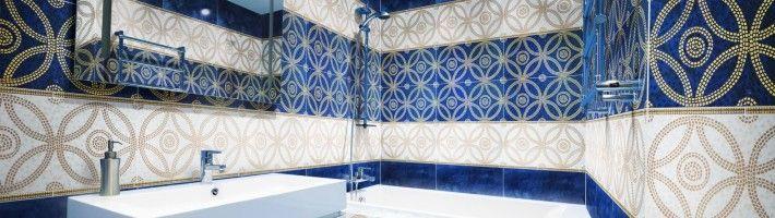 Дизайн для обробки ванної кімнати кахлем