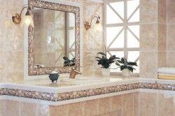Пастельні тони в ванній