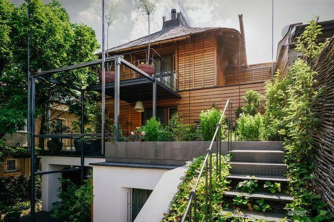 Фото - Заміський будинок в румунії: велика кількість зелені і натуральні матеріали для декору