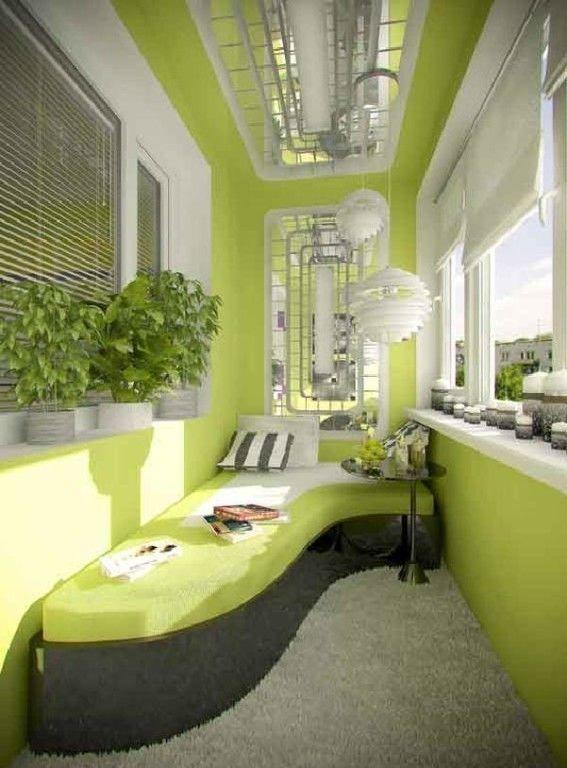 Фото - Дизайн і інтер'єр балкона в панельному будинку