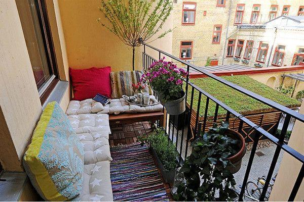 Фото - Дизайн і обробка відкритого балкона