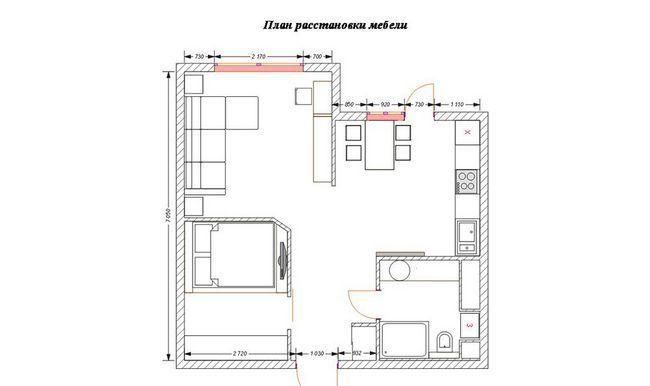 Фото - Дизайн інтер'єру невеликої спальні
