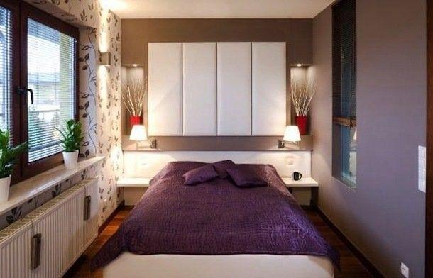 Фото - Дизайн інтер'єру спальні розміром 12 кв