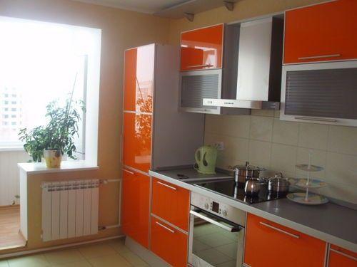 збільшення кухні за рахунок балкона