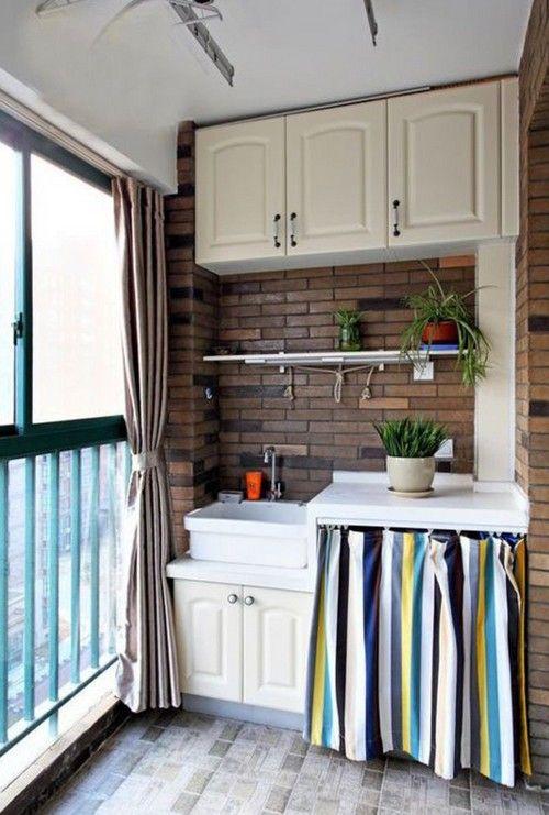 Кухня на балконі фото