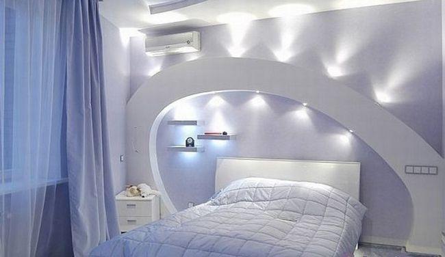 Фото - Дизайн ніш, полиць і арок з гіпсокартону