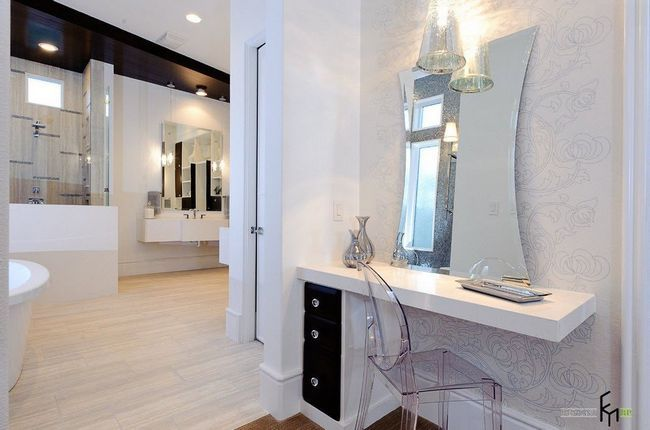 Зонування однокімнатної квартири можна виконати за допомогою меблів