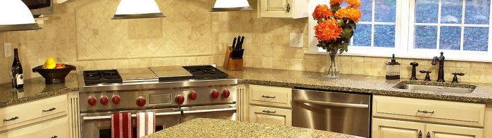 Фото - Дизайн плитки на кухні: оформлення статі і робочої зони