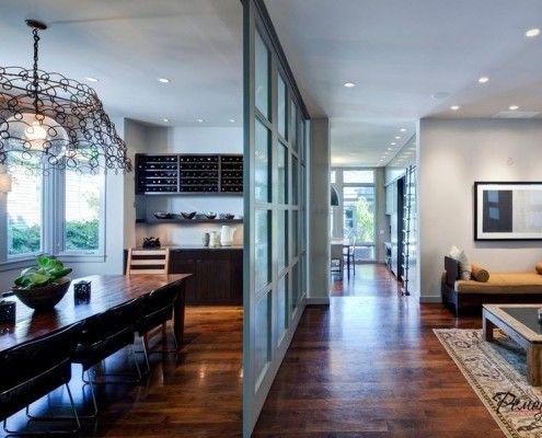 Фото - Стираємо межі простору: скляні перегородки в квартирі