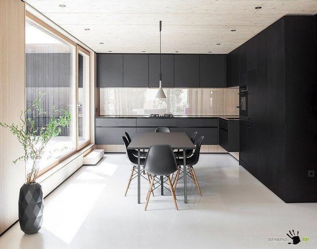 Фото - Заміський будинок в швеции - контрастний дизайн