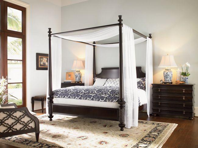 Фото - Дизайн спальні з балдахіном в сучасному будинку