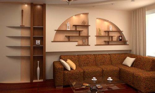 Фото - Дизайн стін: робимо гіпсокартонні ніші