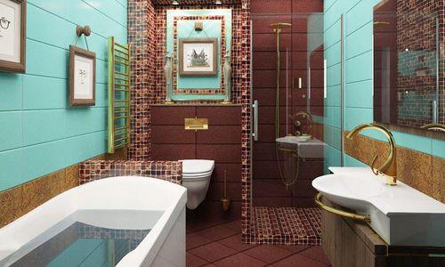 Фото - Дизайн ванної кімнати з варіантами розташування душової кабіни