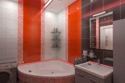 Дизайн великої ванній