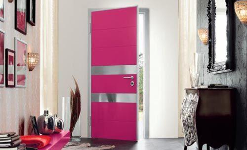 Дизайн вхідних дверей фото