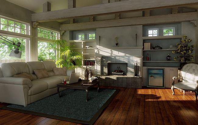 Фото - Дизайн залу в приватному будинку
