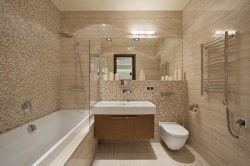 Дизайн ванної в стилі мінімалізм