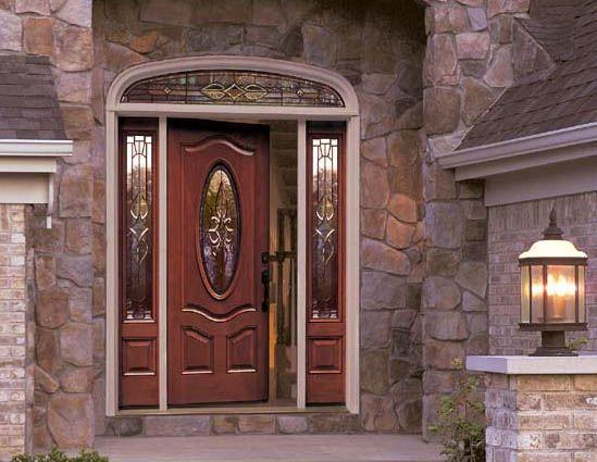 Вхідні двері в будинок