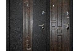 Сталеві вхідні двері