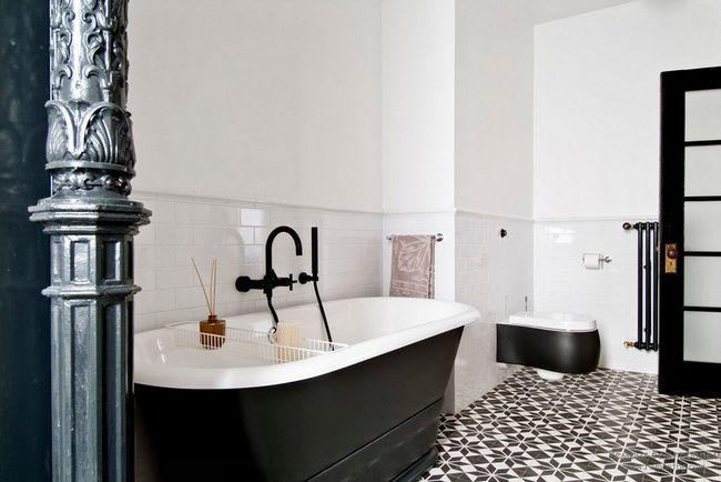 Фото - Темна ванна кімната