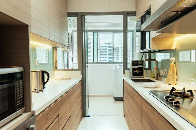 Паралельна планування в кухні