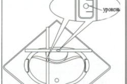 Схема монтажу душової кабіни.