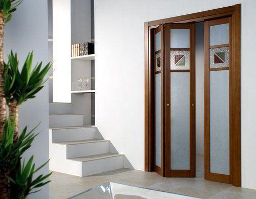 Складні двері-гармошка в інтерєрі