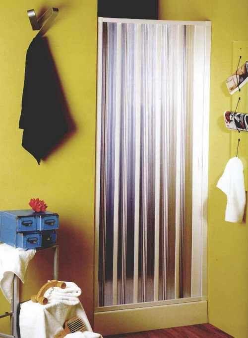 Шторка-гармошка для ванної фото