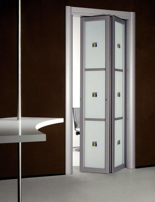 Двері-гармошка для ванної