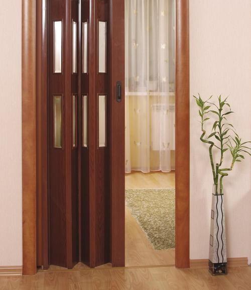 Двері-гармошка міжкімнатні фото