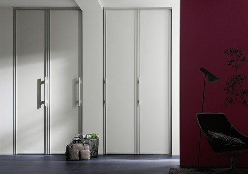 Складні двері-гармошка в інтерєрі фото