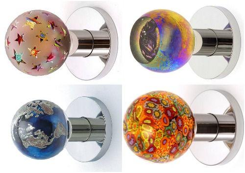Красиві круглі дверні ручки