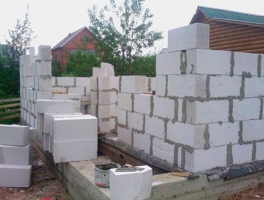 Фото - Фундамент для будинку з газосилікату