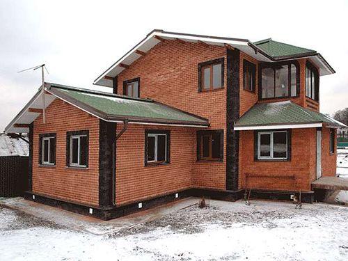 Фото - Фундамент для двоповерхового цегляного будинку