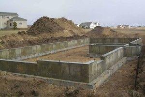 Фото - Фундамент з бетонних плит
