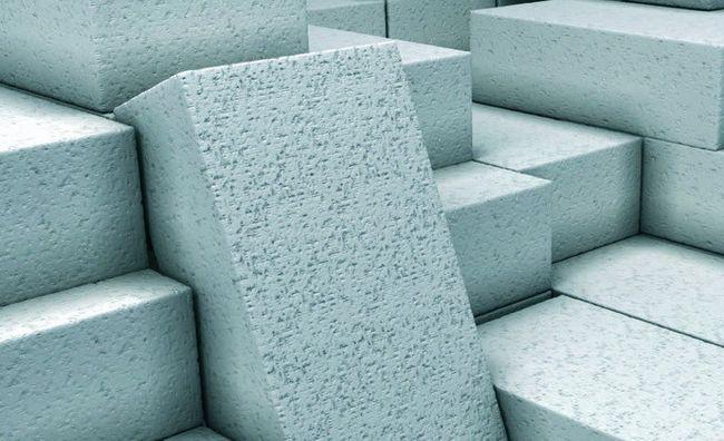 Фото - Газобетонні блоки автоклавного твердіння
