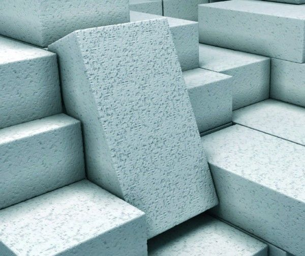 Фото - Витрата клею на куб газосилікатних блоків