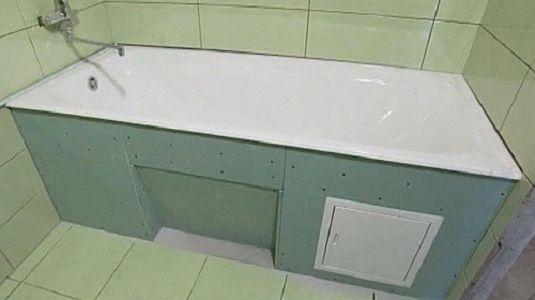 Фото - Гіпсокартон в ванній для конструктивних рішень