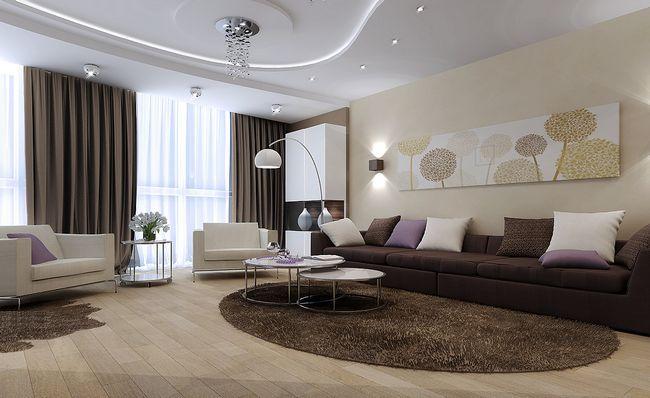 Фото - Вітальня 9 кв м: як оформити дизайн внутрішнього інтер'єру?