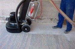 Шліфування підлоги професійної шліфувальною машиною
