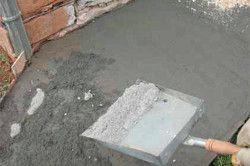 Спосіб железнение цементом