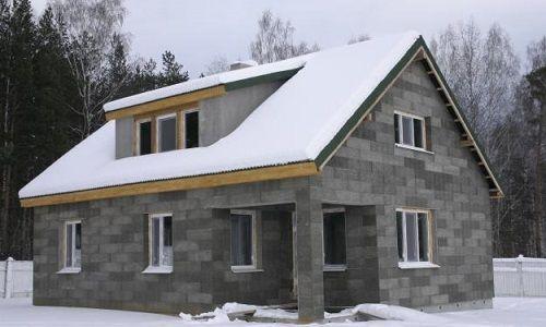 Будинок з бетонних блоків