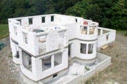 Будівництво будинку з газобетонних блоків.