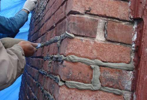 Розчин для кладки стін при низьких температурах