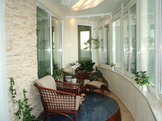 Фото - Ідеї   для оформлення балкона