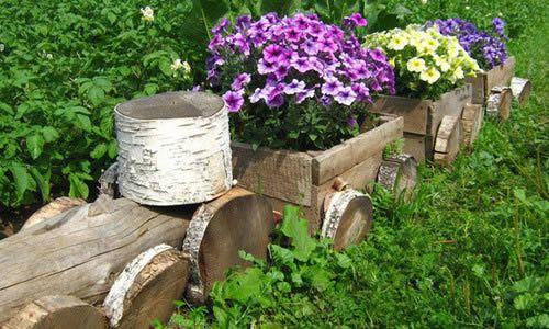 Фото - Ідеї   для оформлення присадибної ділянки в сільському стилі